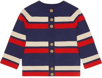 Gucci Striped wool cardigan