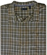 Arrow Asphalt Plaid Button-Down Shirt - Big & Tall 4XL