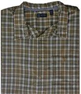 Arrow Asphalt Plaid Button-Down Shirt - Big & Tall 4XL