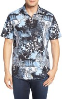 Robert Graham Moapa Valley Classic Fit Short Sleeve Sport Shirt