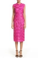 Monique Lhuillier Women's Lace Sheath Dress