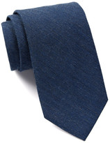 Calvin Klein Twill Denim Metallic Tie