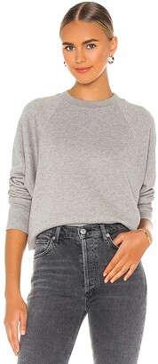 Marissa Webb So Uptight Loop Back Raglan Sweatshirt