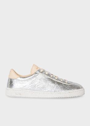 Paul Smith Women's Silver 'Dusty' Pinatex Sneakers