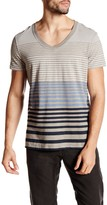Rogue Striped V-Neck Tee