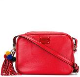 Dolce & Gabbana Glam pom-pom crossbody bag - women - Calf Leather - One Size