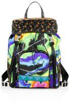 Prada Tessuto Patch Nylon Backpack