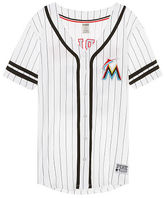 PINK Miami Marlins Button Down Jersey