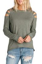 Elan International Shoulder Sweater Slits