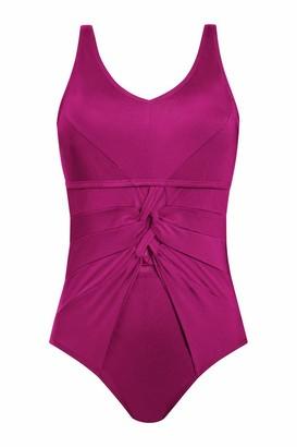 Amoena Women's Cyprus One-Piece Pocketed Mastectomy Swimsuit