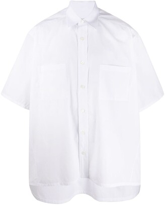 Givenchy Boxy Fit Plain Shirt