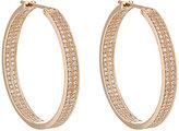 Repossi Women's Berbère Classic Medium Hoop Earrings-Pink