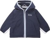 BOSS Hooded windbreaker jacket