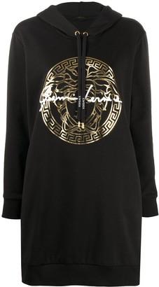 Versace GV signature hoodie dress