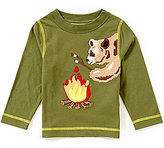 Class Club Adventure Wear by Little Boys 2T-6 Bear Applique Long-Sleeve Tee