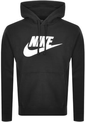 Nike Swoosh Logo Hoodie Black