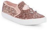 Juicy Couture Little Girl's Embellished Glitter Slip-On Sneakers