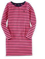 Ralph Lauren Striped Stretch Cotton Dress