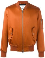 Ami Alexandre Mattiussi zipped bomber jacket - men - Acetate - S