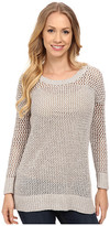 Lucky Brand Laced-Up Pullover