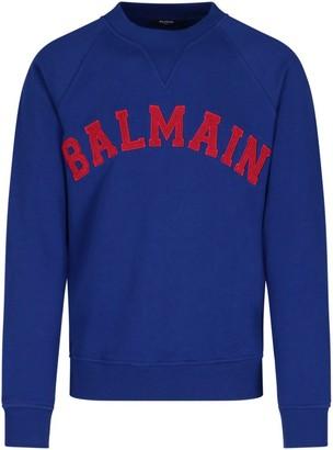 Balmain University Logo Sweatshirt