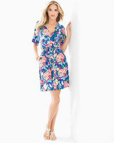 Soma Intimates Soft Jersey Kimono Wrap Short Dress