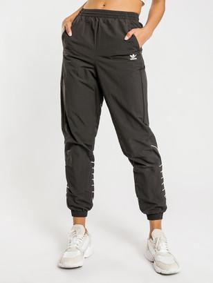 adidas Large Logo Track Pants in Black
