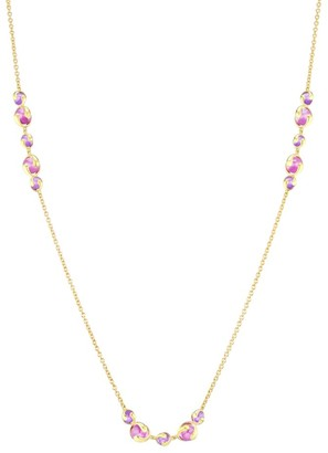 Marina B 18K Yellow Gold & Purple Quartz Chain Necklace