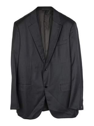 Valentino Anthracite Wool Jackets