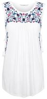 George Embroidered Sleeveless Tunic