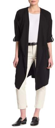 Philosophy di Lorenzo Serafini 3/4 Sleeve Solid Duster