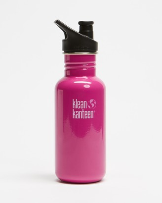 Klean Kanteen Pink Water Bottles - 18oz Classic Sport Cap Bottle - Size One Size at The Iconic
