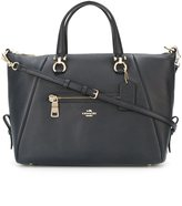 Coach zipped tote - women - Leather - One Size