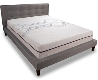 "Sealy 12"" Medium Memory Foam Mattress Mattress Size: Twin"