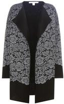 Diane von Furstenberg Jeraldine lace and merino wool jacket