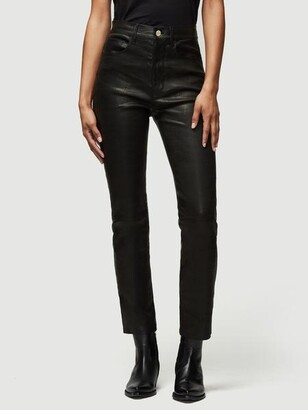 Frame Leather Le Sylvie Slender Straight