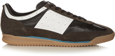 Maison Margiela Retro low-top suede and leather trainers