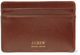 J.Crew Leather Cardholder