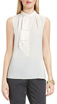 Vince Camuto Sleeveless Neck-Tie Blouse
