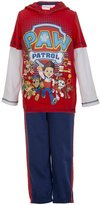 Nickelodeon Paw Patrol Little Boys Hoodie 2 Piece Set in Size: 12M