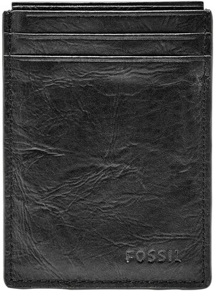 Fossil Neel Magnetic Leather Money Clip Card Case