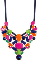 Trina Turk Dramatic Glass Stone Necklace
