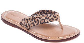 Bernardo Miami Cheetah Thong Sandals