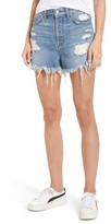 7 For All Mankind Women's Scallop Hem Shorts
