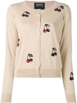 Markus Lupfer sequin cherry cardigan