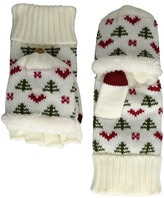 San Diego Hat Company KNG3475 Tree And Hearts Pop Over Gloves