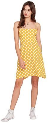 Volcom Read the Room Dress (Dot) Women's Dress