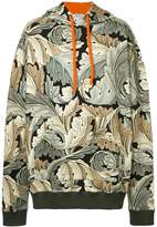 Loewe oversized print hoodie