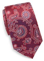 Saks Fifth Avenue Silk Paisley Tie
