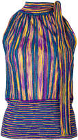 Missoni lurex halter-neck top